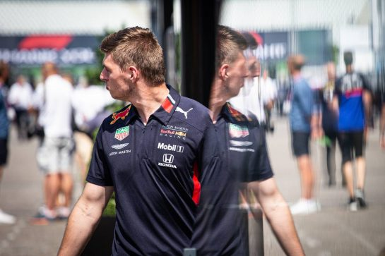 Max Verstappen (NLD) Red Bull Racing. 25.07.2019. Formula 1 World Championship, Rd 11, German Grand Prix, Hockenheim, Germany, Preparation Day.  - www.xpbimages.com, EMail: requests@xpbimages.com - copy of publication required for printed pictures. Every used picture is fee-liable. © Copyright: Bearne / XPB Images