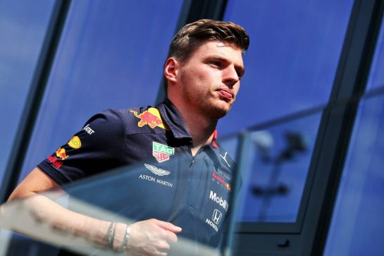 Max Verstappen (NLD) Red Bull Racing. 25.07.2019. Formula 1 World Championship, Rd 11, German Grand Prix, Hockenheim, Germany, Preparation Day. - www.xpbimages.com, EMail: requests@xpbimages.com - copy of publication required for printed pictures. Every used picture is fee-liable. © Copyright: Moy / XPB Images