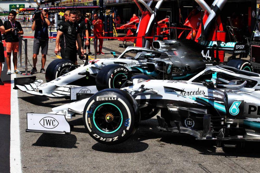 Mercedes reveals one-off German GP celebratory livery | F1i com