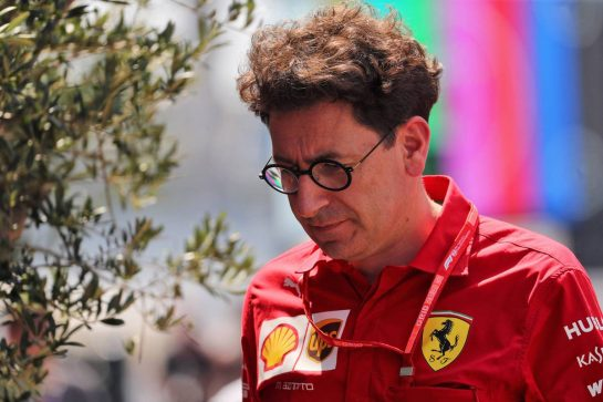 Mattia Binotto (ITA) Ferrari Team Principal. 25.07.2019. Formula 1 World Championship, Rd 11, German Grand Prix, Hockenheim, Germany, Preparation Day. - www.xpbimages.com, EMail: requests@xpbimages.com - copy of publication required for printed pictures. Every used picture is fee-liable. © Copyright: Photo4 / XPB Images