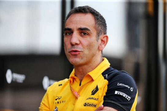 Cyril Abiteboul (FRA) Renault Sport F1 Managing Director.