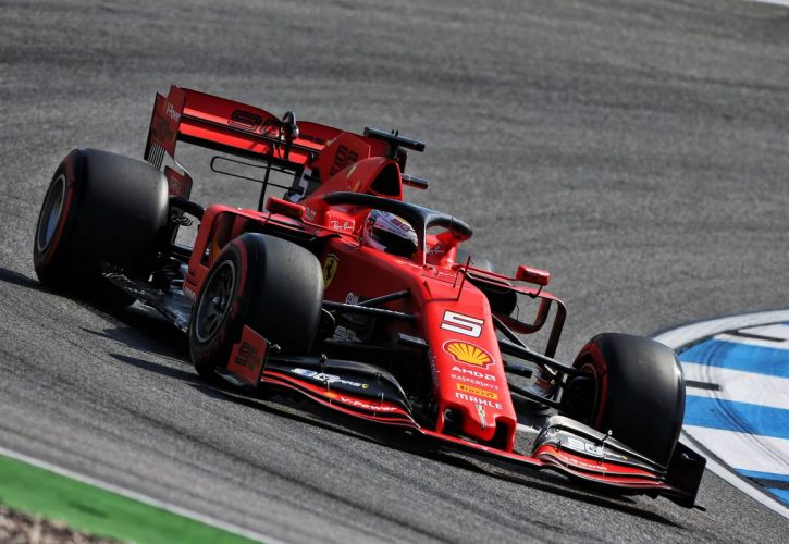 Sebastian Vettel knocked out in Q1 in German GP qualifying