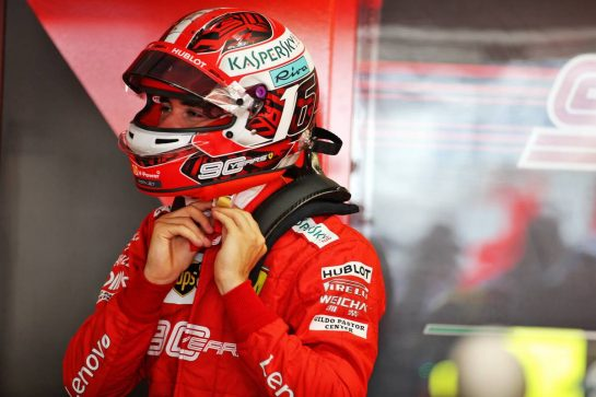 Charles Leclerc (MON) Ferrari. 26.07.2019. Formula 1 World Championship, Rd 11, German Grand Prix, Hockenheim, Germany, Practice Day. - www.xpbimages.com, EMail: requests@xpbimages.com - copy of publication required for printed pictures. Every used picture is fee-liable. © Copyright: Batchelor / XPB Images
