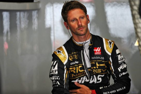 Romain Grosjean (FRA) Haas F1 Team. 26.07.2019. Formula 1 World Championship, Rd 11, German Grand Prix, Hockenheim, Germany, Practice Day. - www.xpbimages.com, EMail: requests@xpbimages.com - copy of publication required for printed pictures. Every used picture is fee-liable. © Copyright: Batchelor / XPB Images