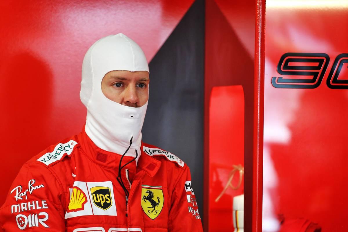 Sebastian Vettel (GER) Ferrari. 27.07.2019.