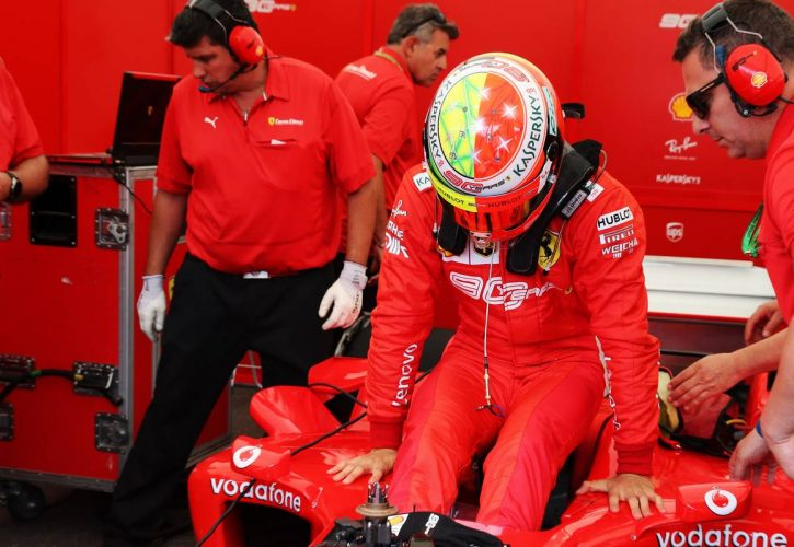 Schumacher: Waiting to drive F2004 was