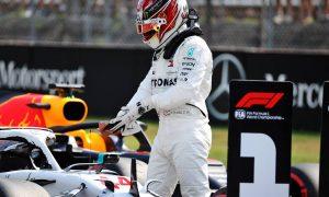 Hamilton takes pole after Ferrari rocked by technical failures