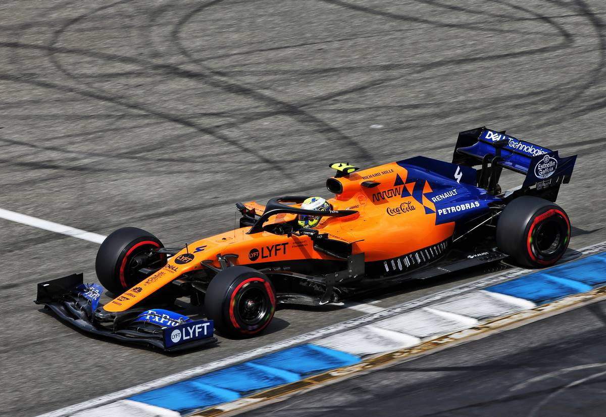 Norris 'let McLaren down' but avoids stewards investigation