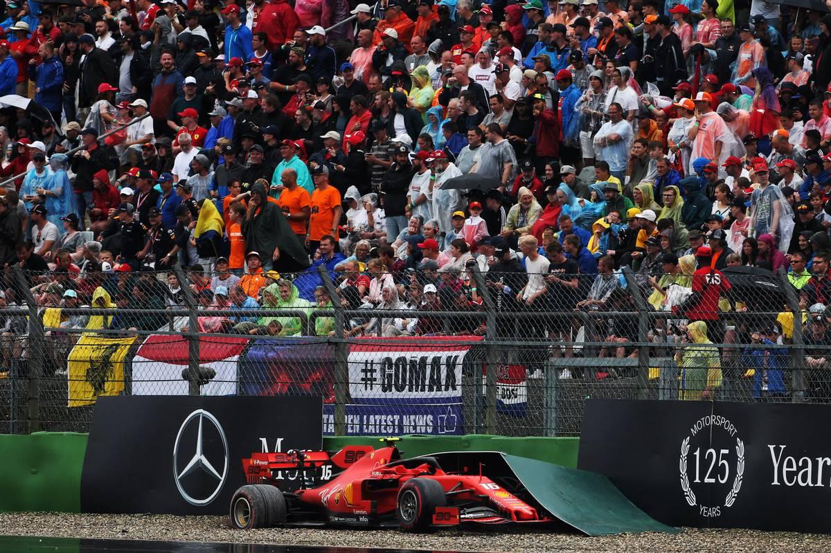 Charles Leclerc (MON) Ferrari SF90 retired from the race.