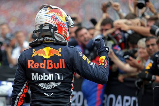 Max Verstappen (NLD), Red Bull Racing 28.07.2019. Formula 1 World Championship, Rd 11, German Grand Prix, Hockenheim, Germany, Race Day.- www.xpbimages.com, EMail: requests@xpbimages.com - copy of publication required for printed pictures. Every used picture is fee-liable. © Copyright: Charniaux / XPB Images