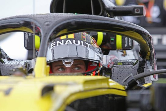 Nico Hulkenberg (GER), Renault Sport F1 Team 28.07.2019. Formula 1 World Championship, Rd 11, German Grand Prix, Hockenheim, Germany, Race Day.- www.xpbimages.com, EMail: requests@xpbimages.com - copy of publication required for printed pictures. Every used picture is fee-liable. © Copyright: Charniaux / XPB Images