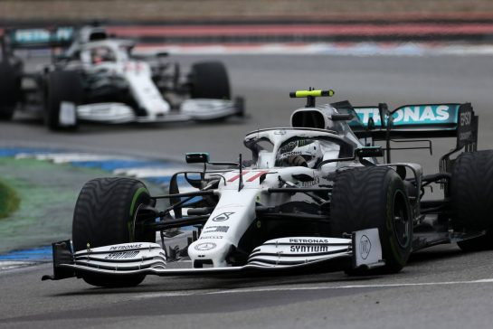 Valtteri Bottas (FIN), Mercedes AMG F1 28.07.2019. Formula 1 World Championship, Rd 11, German Grand Prix, Hockenheim, Germany, Race Day.- www.xpbimages.com, EMail: requests@xpbimages.com - copy of publication required for printed pictures. Every used picture is fee-liable. © Copyright: Charniaux / XPB Images