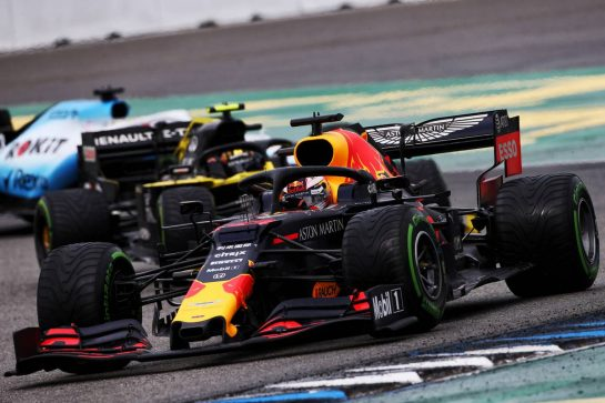 Max Verstappen (NLD) Red Bull Racing RB15. 28.07.2019. Formula 1 World Championship, Rd 11, German Grand Prix, Hockenheim, Germany, Race Day. - www.xpbimages.com, EMail: requests@xpbimages.com - copy of publication required for printed pictures. Every used picture is fee-liable. © Copyright: Moy / XPB Images