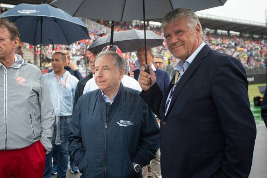 Jean Todt (FRA) FIA President on the grid. 28.07.2019. Formula 1 World Championship, Rd 11, German Grand Prix, Hockenheim, Germany, Race Day.  - www.xpbimages.com, EMail: requests@xpbimages.com - copy of publication required for printed pictures. Every used picture is fee-liable. © Copyright: Bearne / XPB Images