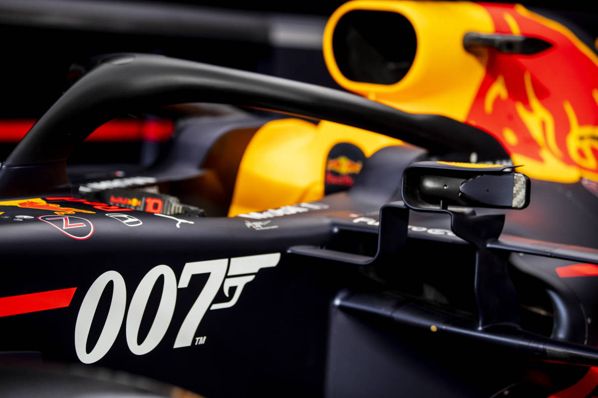 Bull, Red Bull to carry special 007-themed livery at Silverstone