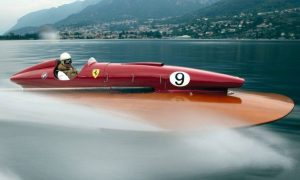 The only Ferrari-powered boat is up for grabs