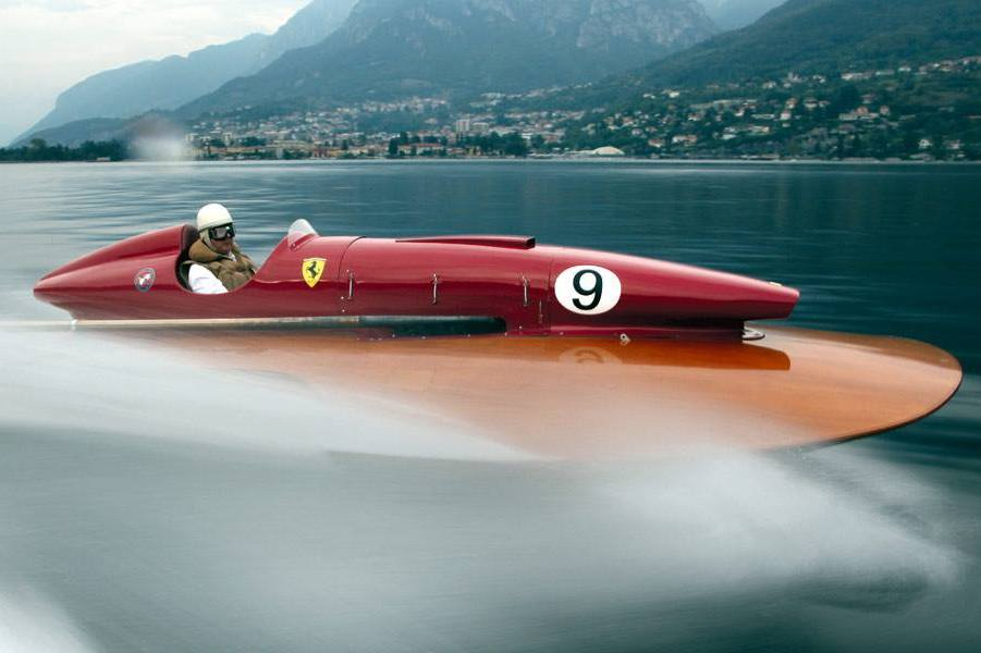 F1i Pic Of The Day The Only Ferrari Powered Boat Is Up For Grabs