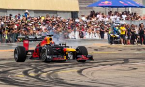 Buemi's run to the hills with Red Bull