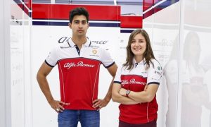 Alfa Romeo line up Calderon and Correa for F1 test