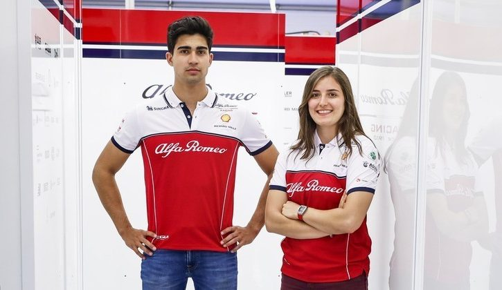 Correa to get first F1 test with Alfa Romeo
