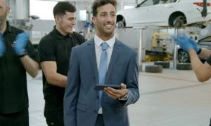 Ricciardo takes a shot at 'Employee of the Month' award!