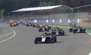 Formula 2 feature race cancelled after massive shunt