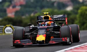 Gasly tops rain disrupted FP2 session in Hungary