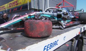 Mercedes in frantic race against time to fix Hamilton's car