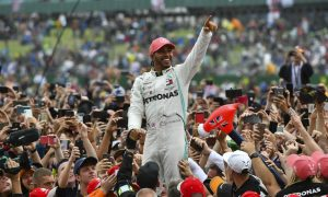 'More to win, more to achieve' with Mercedes says Hamilton