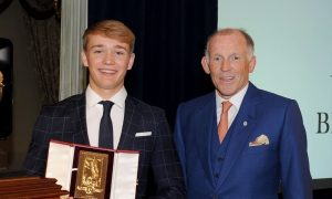 Billy Monger becomes youngest ever recipient of Segrave Trophy