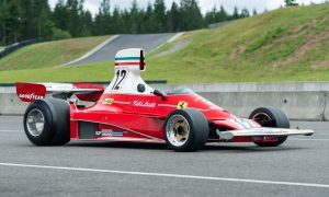 Lauda's winning Ferrari 312T comes under the hammer