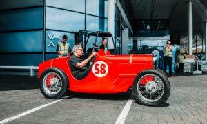 McLaren fires up Bruce's first racer