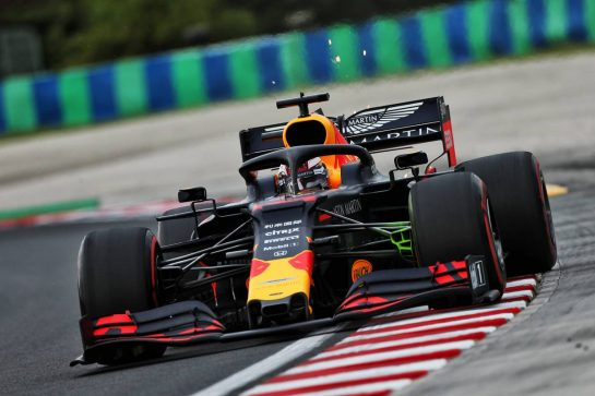 Max Verstappen (NLD) Red Bull Racing RB15. 02.08.2019. Formula 1 World Championship, Rd 12, Hungarian Grand Prix, Budapest, Hungary, Practice Day. - www.xpbimages.com, EMail: requests@xpbimages.com - copy of publication required for printed pictures. Every used picture is fee-liable. © Copyright: Moy / XPB Images