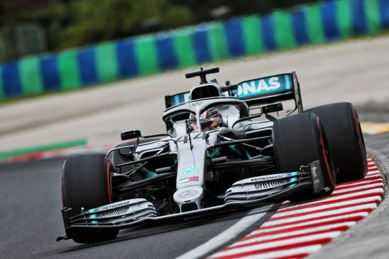 Lewis Hamilton (GBR) Mercedes AMG F1 W10. 02.08.2019. Formula 1 World Championship, Rd 12, Hungarian Grand Prix, Budapest, Hungary, Practice Day. - www.xpbimages.com, EMail: requests@xpbimages.com - copy of publication required for printed pictures. Every used picture is fee-liable. © Copyright: Moy / XPB Images