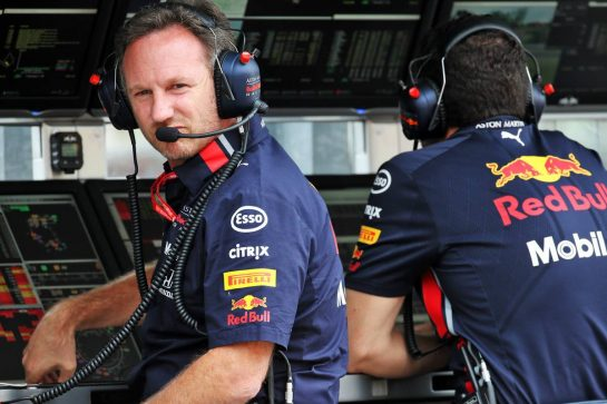 Christian Horner (GBR) Red Bull Racing Team Principal. 02.08.2019. Formula 1 World Championship, Rd 12, Hungarian Grand Prix, Budapest, Hungary, Practice Day. - www.xpbimages.com, EMail: requests@xpbimages.com - copy of publication required for printed pictures. Every used picture is fee-liable. © Copyright: Batchelor / XPB Images