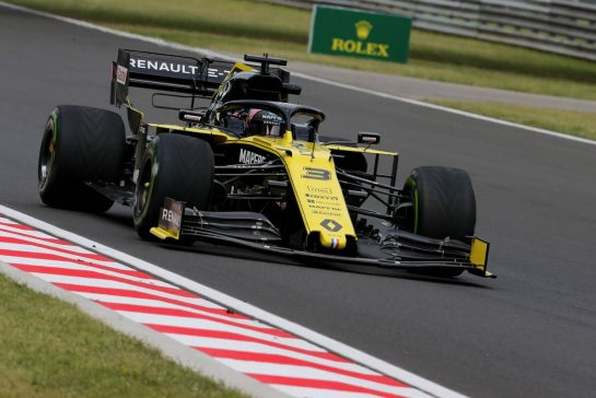 Daniel Ricciardo (AUS), Renault F1 Team 02.08.2019. Formula 1 World Championship, Rd 11, Hungarian Grand Prix, Budapest, Hungary, Practice Day.- www.xpbimages.com, EMail: requests@xpbimages.com - copy of publication required for printed pictures. Every used picture is fee-liable. © Copyright: Charniaux / XPB Images