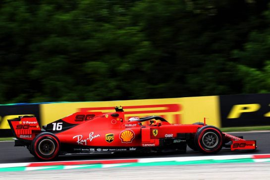 Charles Leclerc (MON) Ferrari SF90. 02.08.2019. Formula 1 World Championship, Rd 12, Hungarian Grand Prix, Budapest, Hungary, Practice Day. - www.xpbimages.com, EMail: requests@xpbimages.com - copy of publication required for printed pictures. Every used picture is fee-liable. © Copyright: Photo4 / XPB Images