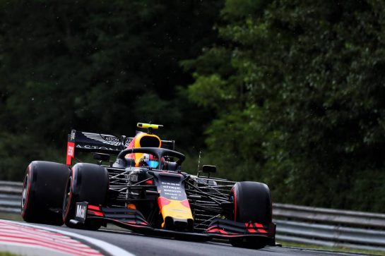 Pierre Gasly (FRA) Red Bull Racing RB15. 02.08.2019. Formula 1 World Championship, Rd 12, Hungarian Grand Prix, Budapest, Hungary, Practice Day. - www.xpbimages.com, EMail: requests@xpbimages.com - copy of publication required for printed pictures. Every used picture is fee-liable. © Copyright: Photo4 / XPB Images