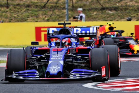 Daniil Kvyat (RUS) Scuderia Toro Rosso STR14. 02.08.2019. Formula 1 World Championship, Rd 12, Hungarian Grand Prix, Budapest, Hungary, Practice Day. - www.xpbimages.com, EMail: requests@xpbimages.com - copy of publication required for printed pictures. Every used picture is fee-liable. © Copyright: Photo4 / XPB Images