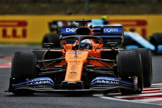 Carlos Sainz Jr (ESP) McLaren MCL34. 02.08.2019. Formula 1 World Championship, Rd 12, Hungarian Grand Prix, Budapest, Hungary, Practice Day. - www.xpbimages.com, EMail: requests@xpbimages.com - copy of publication required for printed pictures. Every used picture is fee-liable. © Copyright: Moy / XPB Images