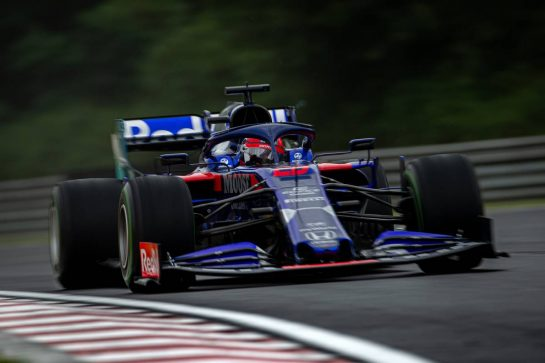 Daniil Kvyat (RUS) Scuderia Toro Rosso STR14. 02.08.2019. Formula 1 World Championship, Rd 12, Hungarian Grand Prix, Budapest, Hungary, Practice Day.  - www.xpbimages.com, EMail: requests@xpbimages.com - copy of publication required for printed pictures. Every used picture is fee-liable. © Copyright: Bearne / XPB Images