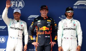 Verstappen finally claims his maiden F1 pole position!