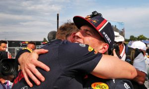 'Incredible' Verstappen celebrates after clinching historic pole