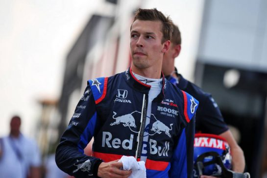 Daniil Kvyat (RUS) Scuderia Toro Rosso.