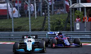 'Nice to be racing other drivers at last,' says Russell