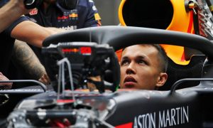 Albon set to make Red Bull bow at the back in Belgium