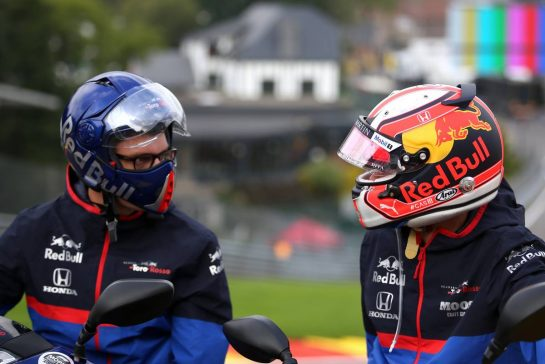 Pierre Gasly (FRA), Scuderia Toro Rosso 29.08.2019. Formula 1 World Championship, Rd 13, Belgian Grand Prix, Spa Francorchamps, Belgium, Preparation Day.- www.xpbimages.com, EMail: requests@xpbimages.com - copy of publication required for printed pictures. Every used picture is fee-liable. © Copyright: Charniaux / XPB Images