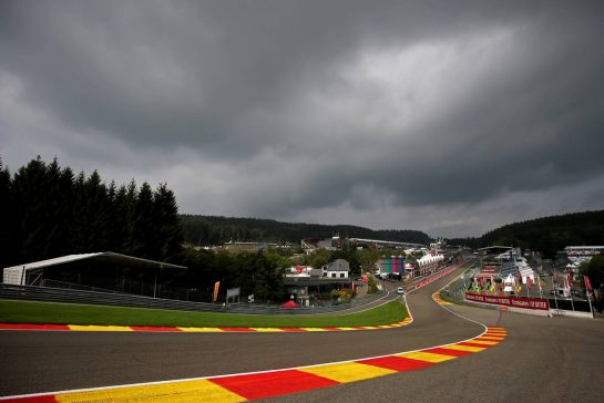 Track Atmosphere 29.08.2019. Formula 1 World Championship, Rd 13, Belgian Grand Prix, Spa Francorchamps, Belgium, Preparation Day.- www.xpbimages.com, EMail: requests@xpbimages.com - copy of publication required for printed pictures. Every used picture is fee-liable. © Copyright: Charniaux / XPB Images