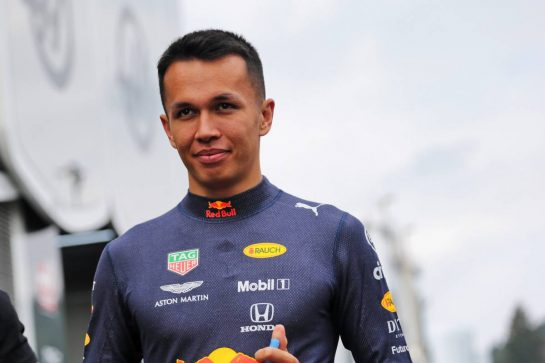 Alexander Albon (THA) Red Bull Racing. 29.08.2019. Formula 1 World Championship, Rd 13, Belgian Grand Prix, Spa Francorchamps, Belgium, Preparation Day.  - www.xpbimages.com, EMail: requests@xpbimages.com - copy of publication required for printed pictures. Every used picture is fee-liable. © Copyright: Bearne / XPB Images