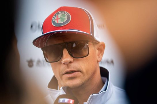 Kimi Raikkonen (FIN) Alfa Romeo Racing. 29.08.2019. Formula 1 World Championship, Rd 13, Belgian Grand Prix, Spa Francorchamps, Belgium, Preparation Day. - www.xpbimages.com, EMail: requests@xpbimages.com - copy of publication required for printed pictures. Every used picture is fee-liable. © Copyright: Price / XPB Images